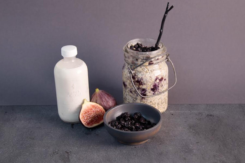 {Recipe} Creamy Blueberry Breakfast Muesli