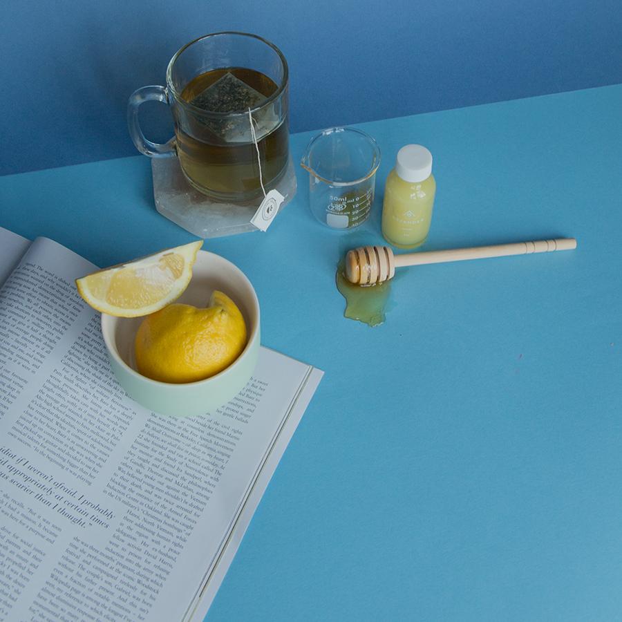 {Recipe} Ginger Cold Remedy Tea