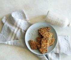 {GUEST POST//RECIPE} Pumpkin Cardamom Buckwheat Granola Bars