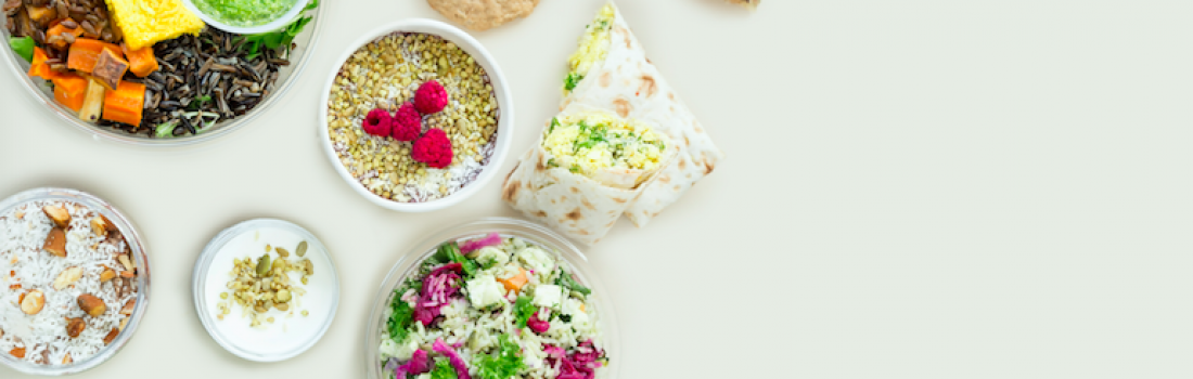 PLANT-BASED LUNCH WITH ELXR JUICE LAB